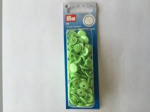 Bilde av Prym trykknapper - 393144 rund eple grønn