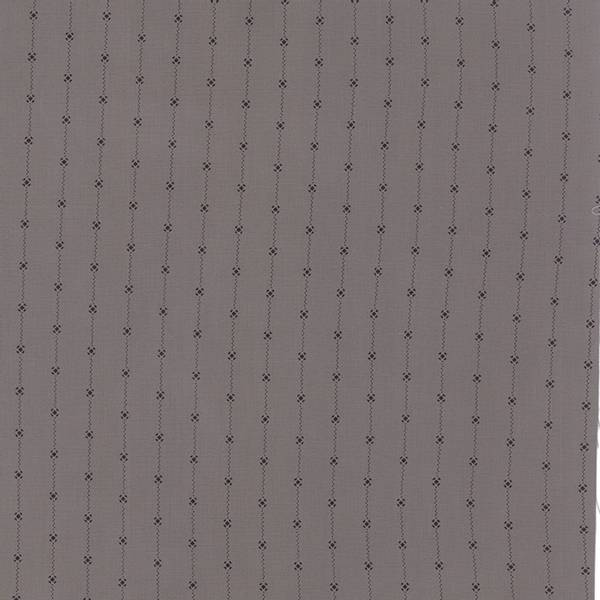 Bilde av 50 cm Lakeside Gatherings - sort strekmønster 15mm på grå
