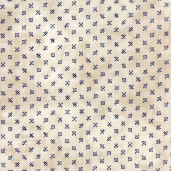 Bilde av Snowman Gatherings II - 8 mm mørkblå småmønstret på natur