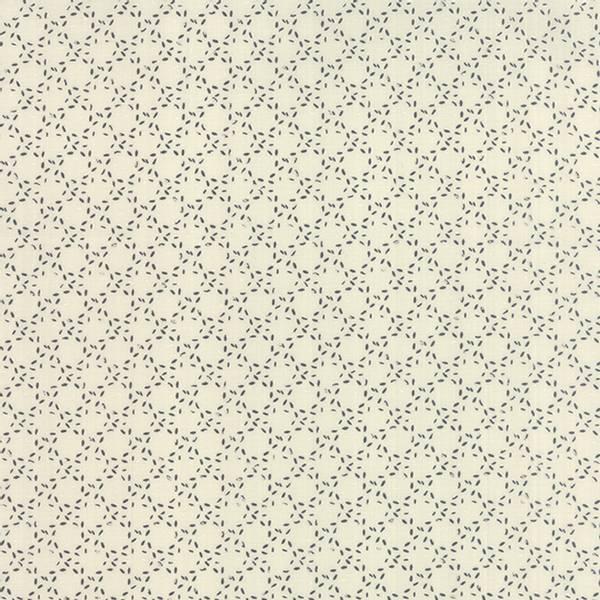 Bilde av Modern Background Paper - ca 1 cm sort strekrundinger på offwhit