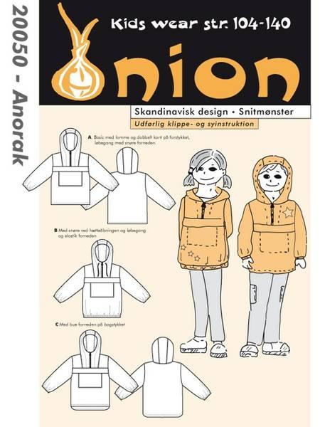 Bilde av Onion 20050 - anorakk str. 3-10 år