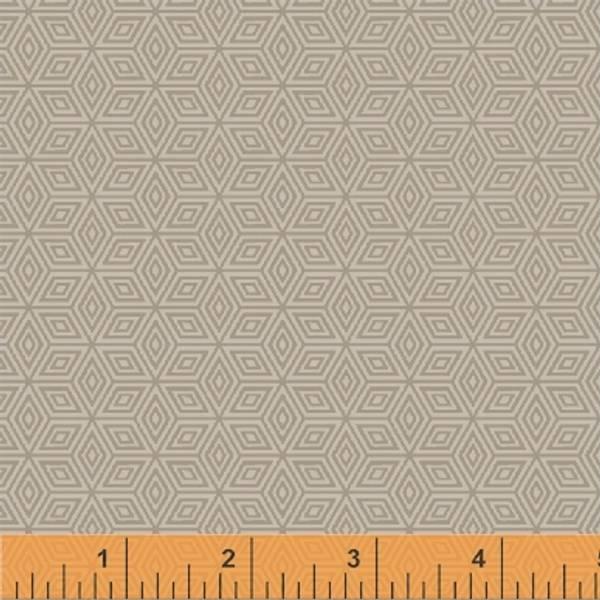 Bilde av 40 cm Little Tinies - 1 cm diamantmønster lys beige på offwhite