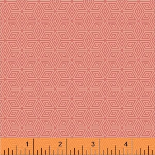 Bilde av Little Tinies - 1 cm diamantmønster støvet aprikot