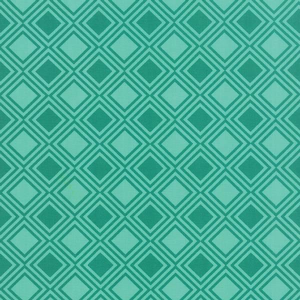 Bilde av Basic Mixologie - 2 cm sjøgrønne diagonale ruter