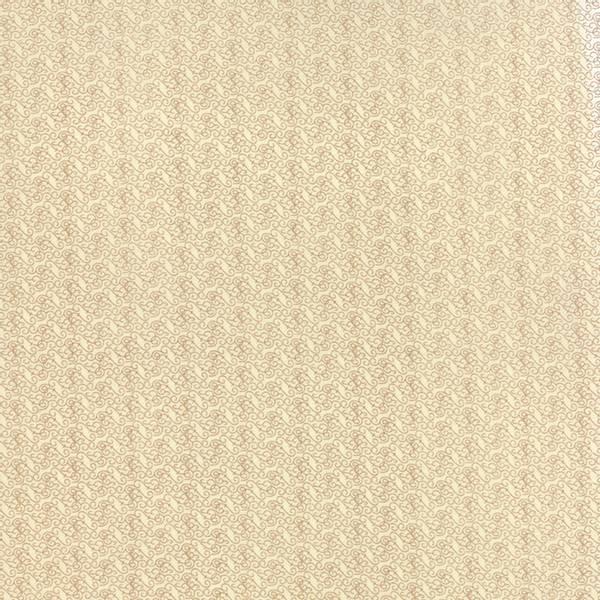 Bilde av 40 cm Elementary - beige snirklemønster på natur