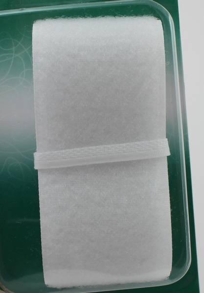 Bilde av Borrelås - 5 cm bred - hvit - uten lim, pakke med 50 cm