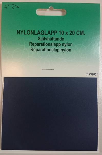 Bilde av Reparaturlapper - selvklebende - nylon, 10 x 20 cm stor, marine