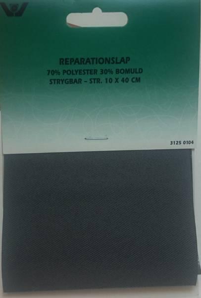 Bilde av Reparaturlapper - til stryking, 10 x 40 cm, mørk grå