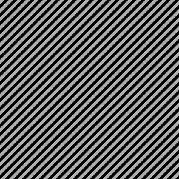 Bilde av 60cm Stripes - 6 mm diagonale striper sort-grå