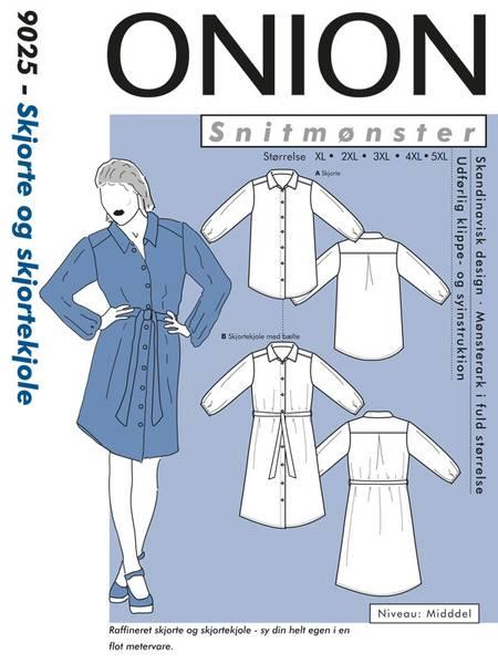 Bilde av Onion 9025 - Skjorte & skjortekjole, pluss-størrelse