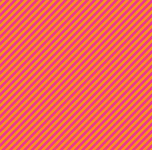 Bilde av Stripes - 6 mm diagonale striper pink-oransje