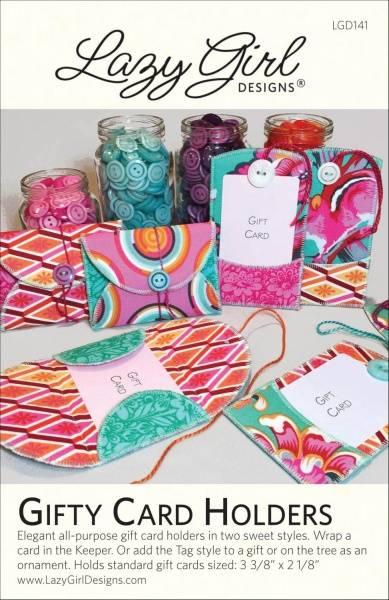 Bilde av Lazy Girl Designs - Gifty Card Holders