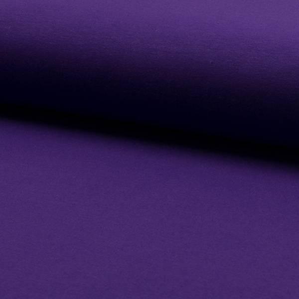 Bilde av 60 cm French Terry ensfarget - mørk lilla