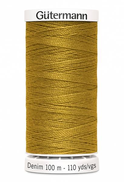 Bilde av Denim - proff tråd - 100 m, matt oransje, fv. 1970