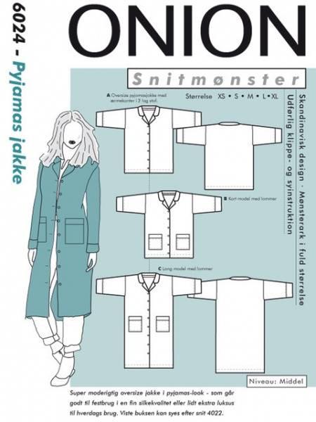 Bilde av Onion 6024 - jakke i pyjamas stil