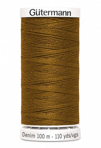 Bilde av Denim - proff tråd - 100 m, mørk oransje, fv. 2040