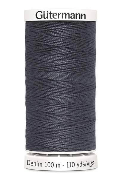 Bilde av Denim - proff tråd - 100 m, mørkgrå, fv. 9455