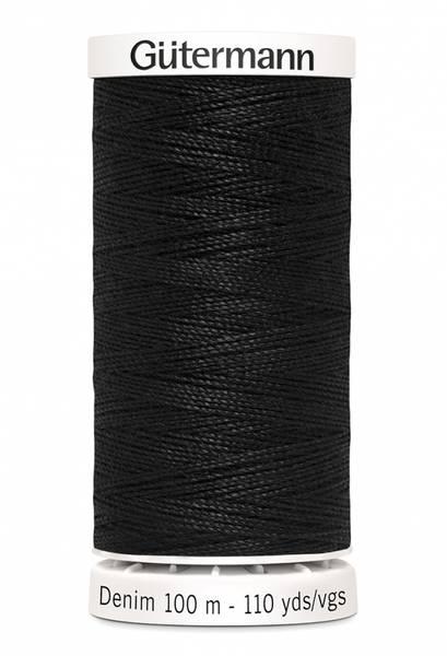 Bilde av Denim - proff tråd - 100 m, sort, fv. 1000