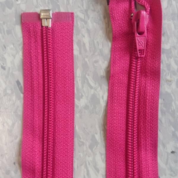 Bilde av Pink jakkeglidelås, 6mm delbar spiral