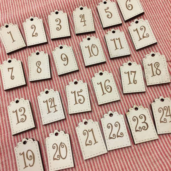 Bilde av The Bee Company - Nummerskilt med 24 tall
