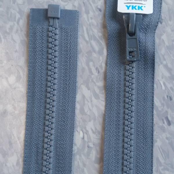 Bilde av YKK grå Vislon delbar glidelås