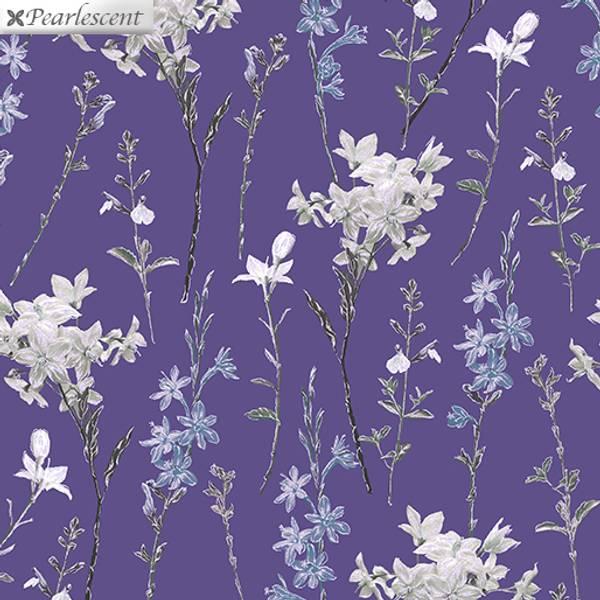 Bilde av 40 cm Violet Twilight - blomsterranker på lilla, 5 cm hode