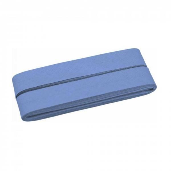 Bilde av Skråbånd - 20 mm, lys jeansblå - 3m-pakke