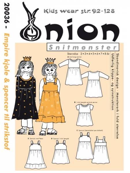 Bilde av Onion 20036 - empirekjole & spencer til stretchstoff