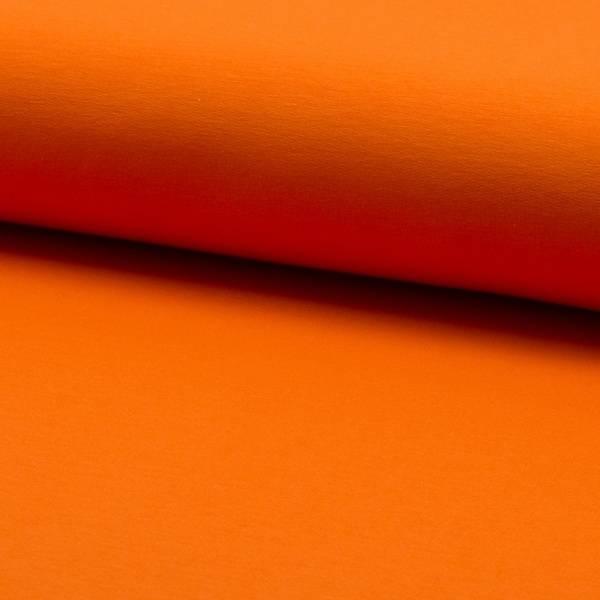 Bilde av French Terry ensfarget - oransje