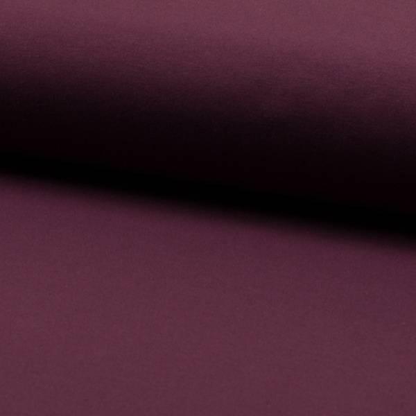 Bilde av French Terry ensfarget - bordeaux rød