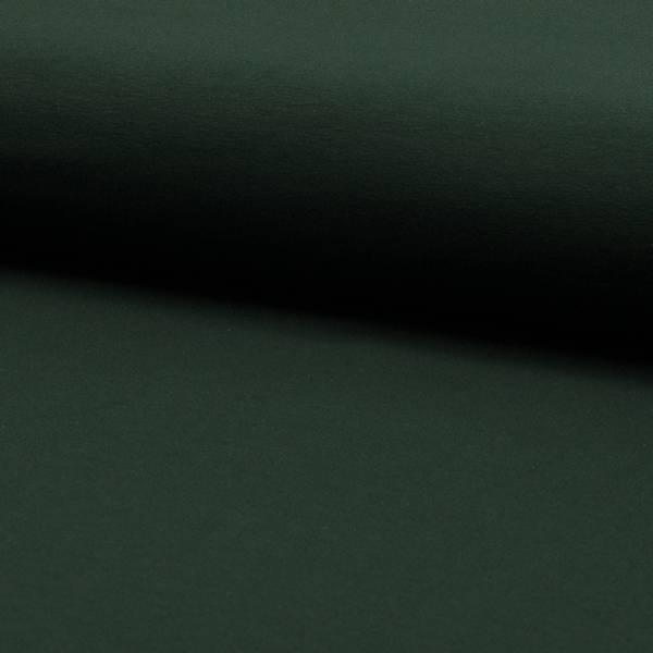 Bilde av French Terry ensfarget - flaskegrønn