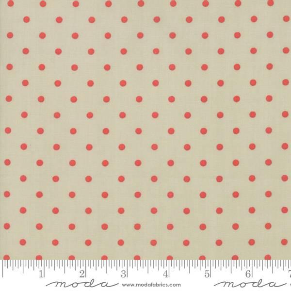 Bilde av 101 Maple Street - 4 mm røde prikker på beige