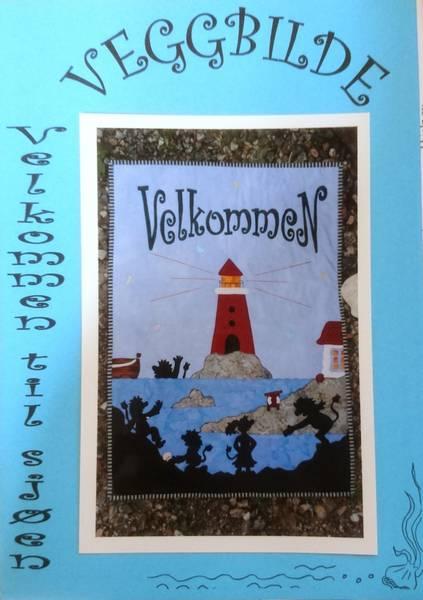 Bilde av Laila Ukkelberg - Velkommen til sjøen - veggbilde