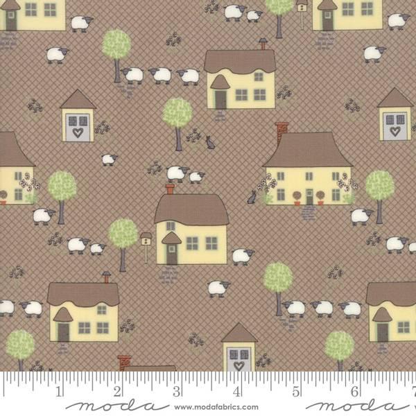 Bilde av Cottontale cottage - 2,5-4 cm hus på lysbrun