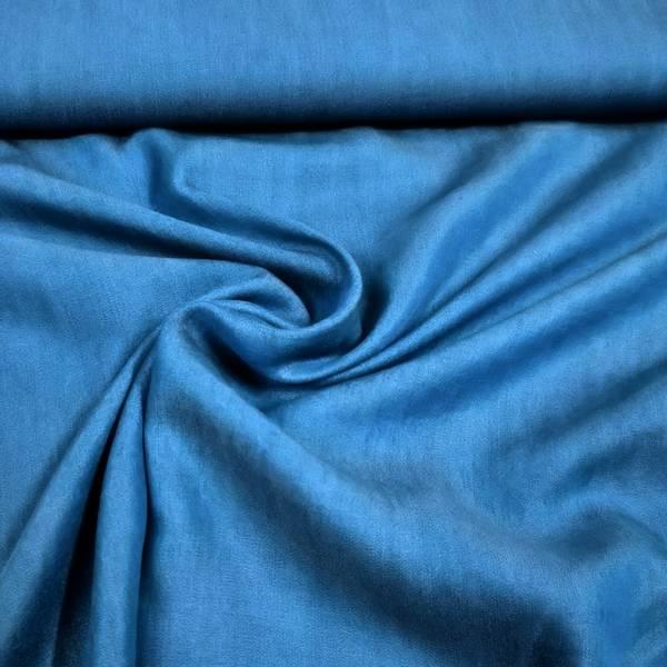 Bilde av Tencel (viskose) - dongerimønster, blå