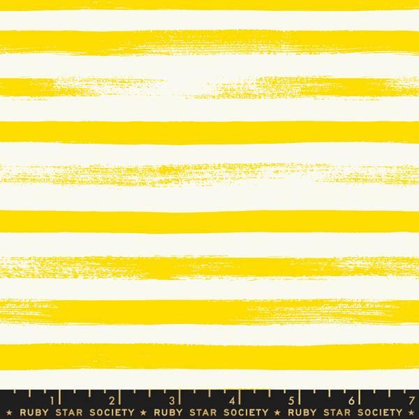 Bilde av Pop & Zip - 1 cm striper - gul-offwhite