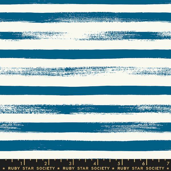 Bilde av Pop & Zip - 1 cm striper - blå-offwhite