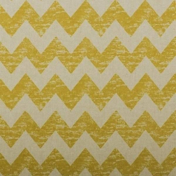 Bilde av Linlook sikksakk - 2 cm bred okergul marmorerte striper