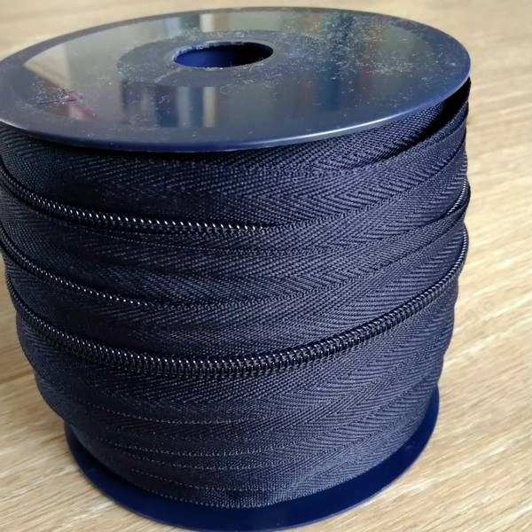 Bilde av Spiralglidelås - 6 mm metervare - marine