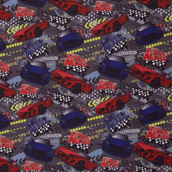 Bilde av Softshell - 7-9 cm racerbiler på grå