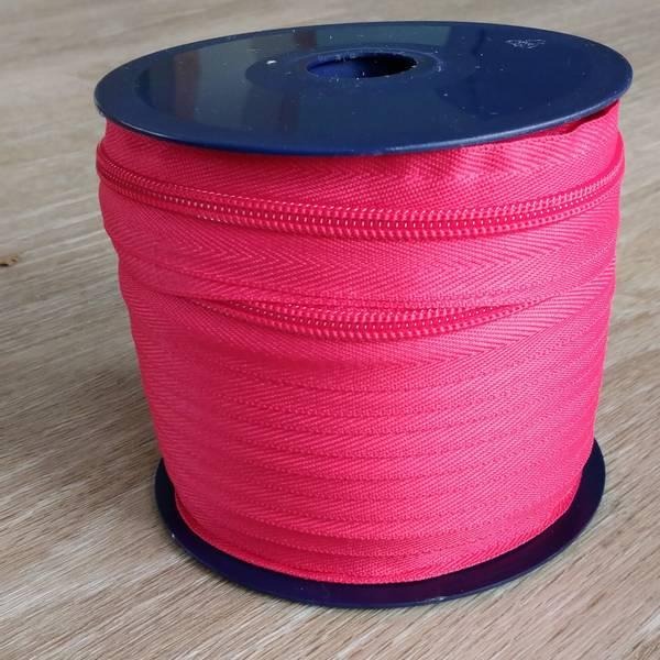 Bilde av Spiralglidelås - 6 mm metervare - pink