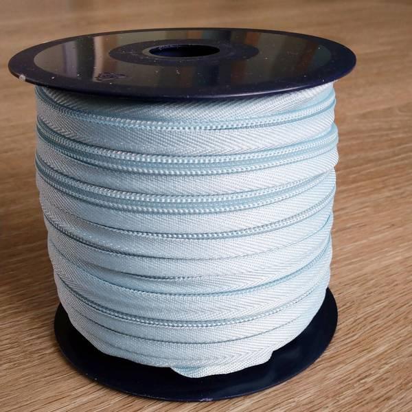 Bilde av Spiralglidelås - 6 mm metervare - lysblå