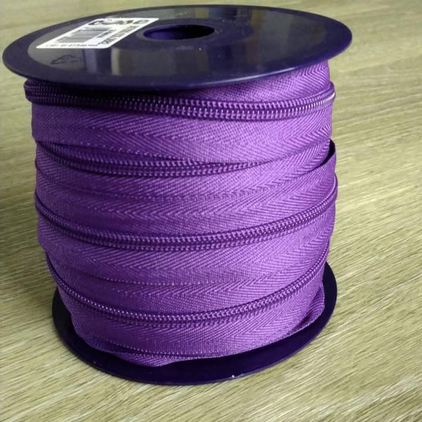 Bilde av Spiralglidelås - 6 mm metervare - lilla