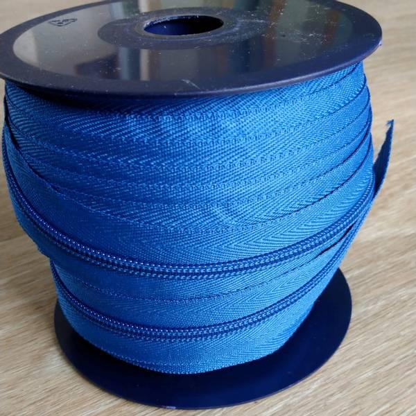 Bilde av Spiralglidelås - 6 mm metervare - koboltblå