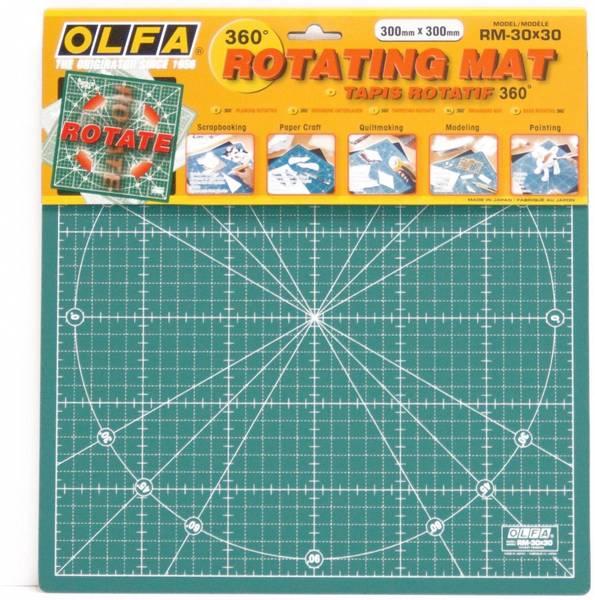 Bilde av OLFA rotary skjærematte - 30*30 cm