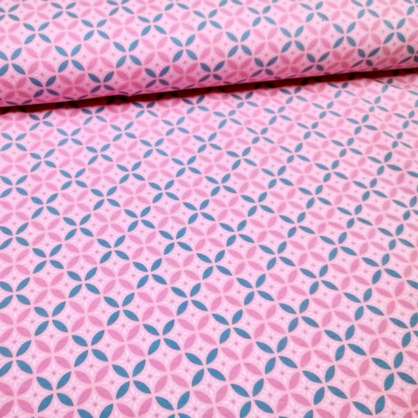 Bilde av French Terry - 2,5 cm rundinger på rosa