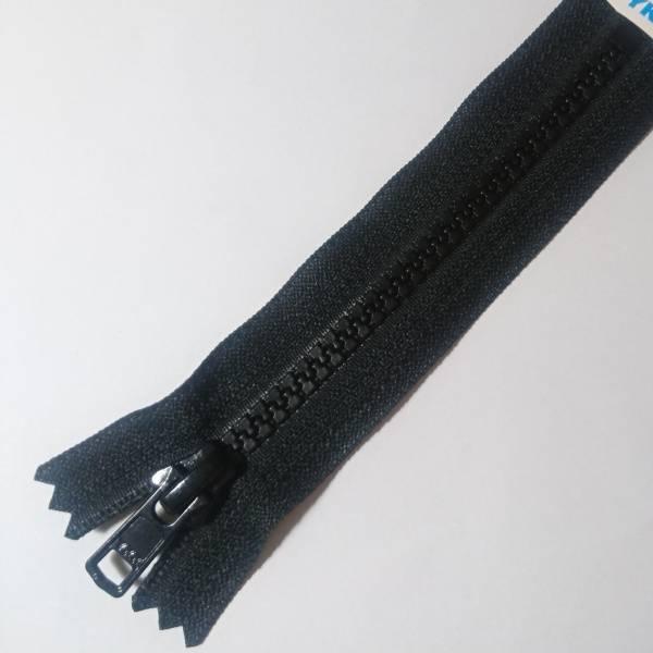 Bilde av YKK, sort, Vislon, ikke delbar glidelås
