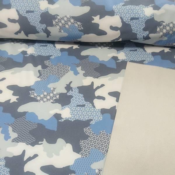 Bilde av Softshell - blå/grå - camouflage