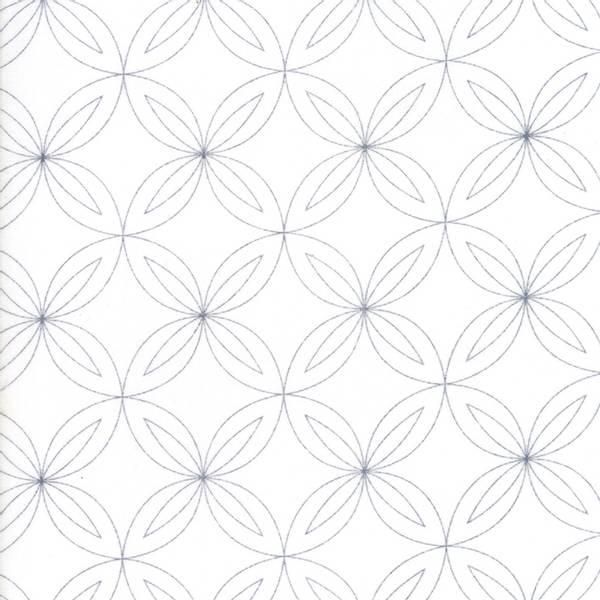 Bilde av Thrive - grå 5 cm ringmønster på offwhite