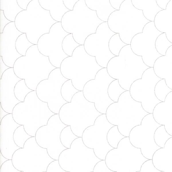 Bilde av 45cm Thrive - grå tapetmønster på offwhite, 2-3 cm